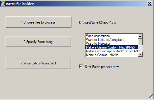 how to build a batch file